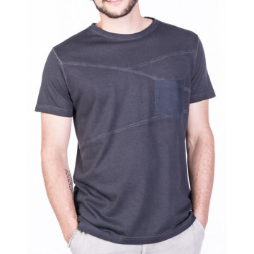 cold dyed t-shirt with pocket