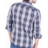 camisa quadres sobretintada
