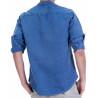 camisa cotó/lli  sobretintada