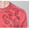 cold dye printed t-shirt
