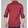 camisa elástica sobretintada