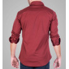 stretch overdyed shirt